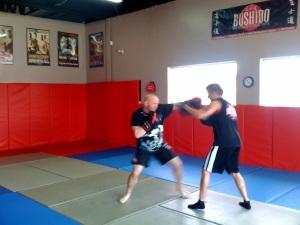 Focus Pad Work With Jason Hayward